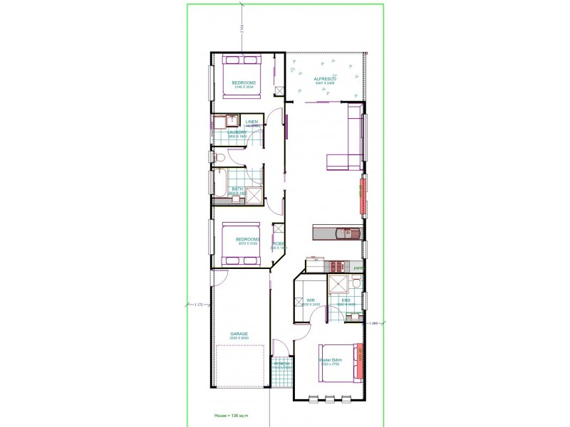 26 Seabreeze circ, Deception Bay QLD 4508 Floorplan