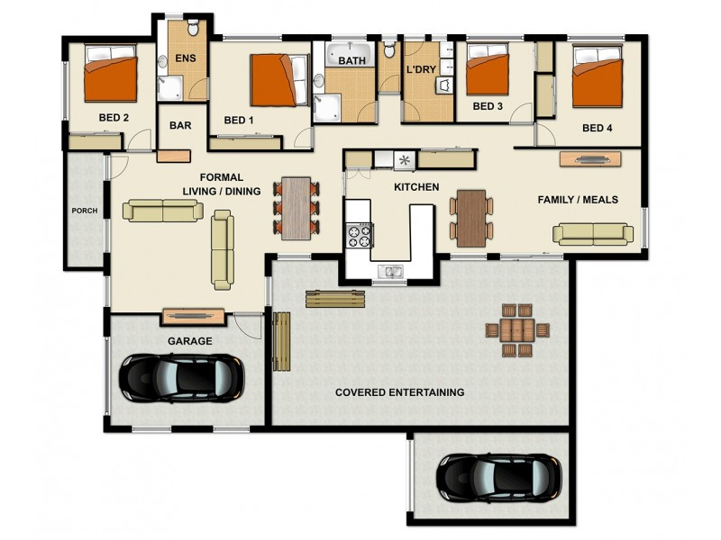277 Blunder Rd, Durack QLD 4077 Floorplan