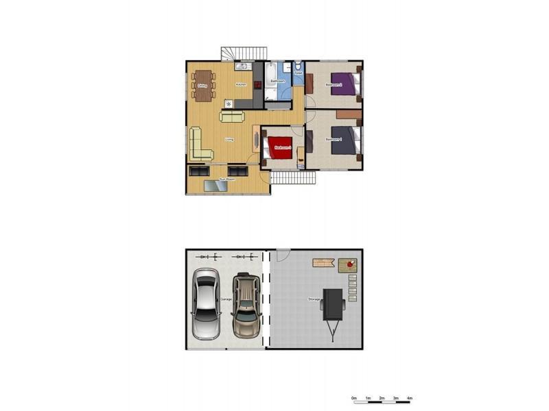 11 Delorme St, Durack QLD 4077 Floorplan