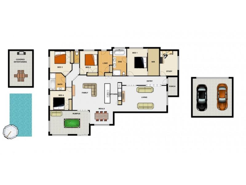 16 Rachele Close, Forest Lake QLD 4078 Floorplan