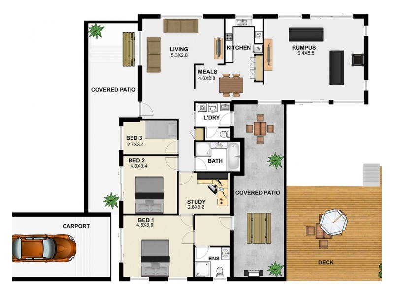 3 Littabella Street, Durack QLD 4077 Floorplan
