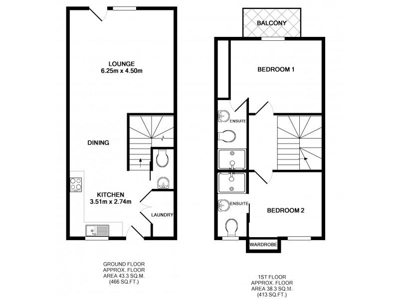 10/507 Wyndham Street, Shepparton VIC 3630 Floorplan