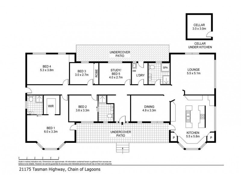 21175 Tasman Highway, Bicheno TAS 7215 Floorplan