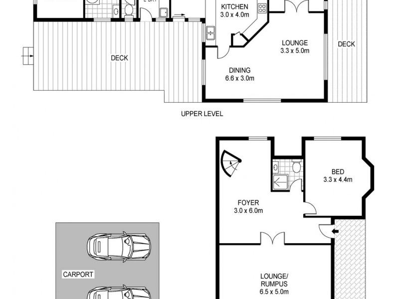 1828 Blessington Road, Blessington TAS 7212 Floorplan