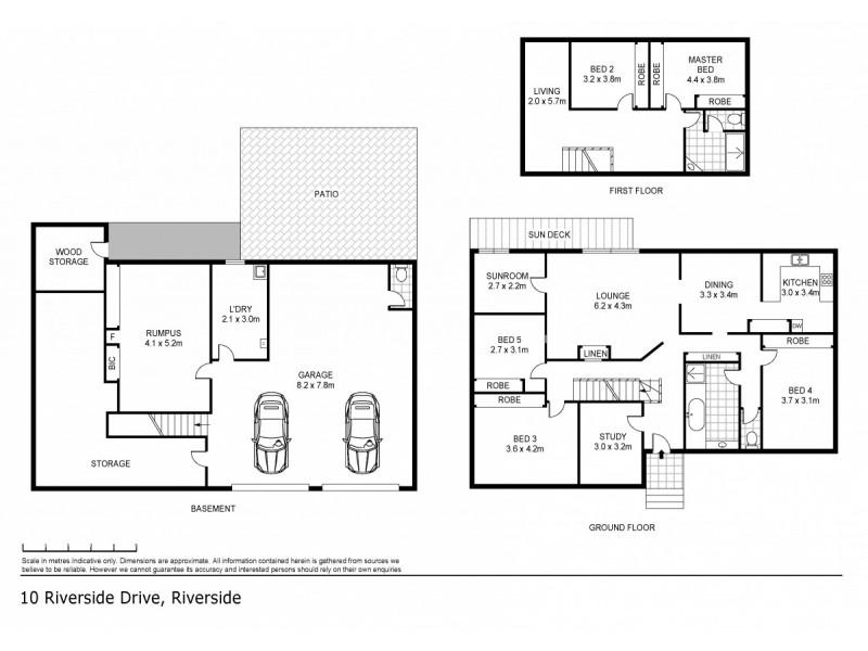 10 Riverside Drive, Riverside TAS 7250 Floorplan