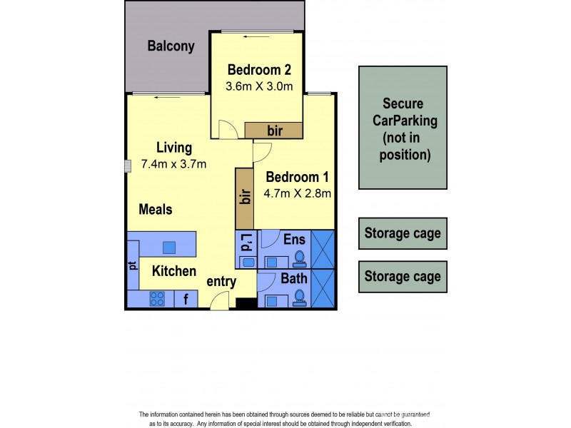 308/105 Dundas Street, Preston VIC 3072 Floorplan