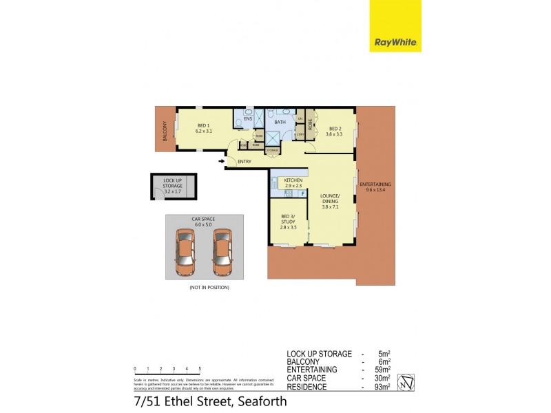 7/51 Ethel Street, Seaforth NSW 2092 Floorplan