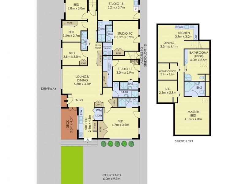 1 Innes Road, Manly Vale NSW 2093 Floorplan
