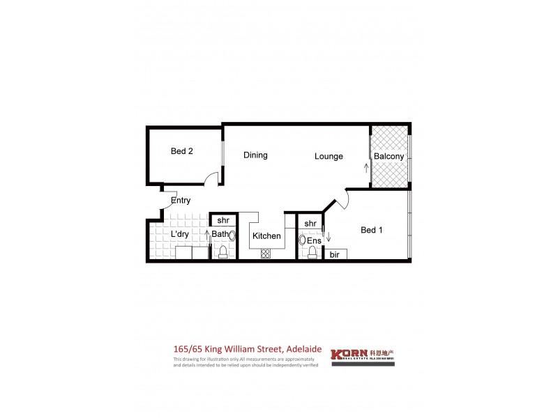 165/65 King William Street, Adelaide SA 5000 Floorplan