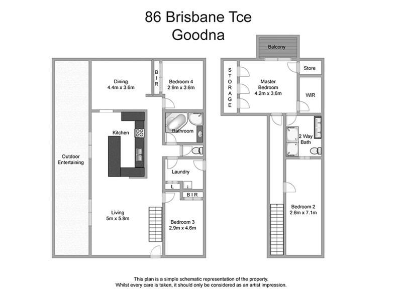 86 Brisbane Terrace, Goodna QLD 4300 Floorplan