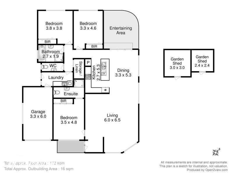 23 Iris Court, Kingston TAS 7050 Floorplan
