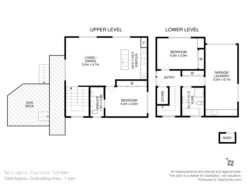 1/69 Auburn Road, Kingston Beach TAS 7050 Floorplan