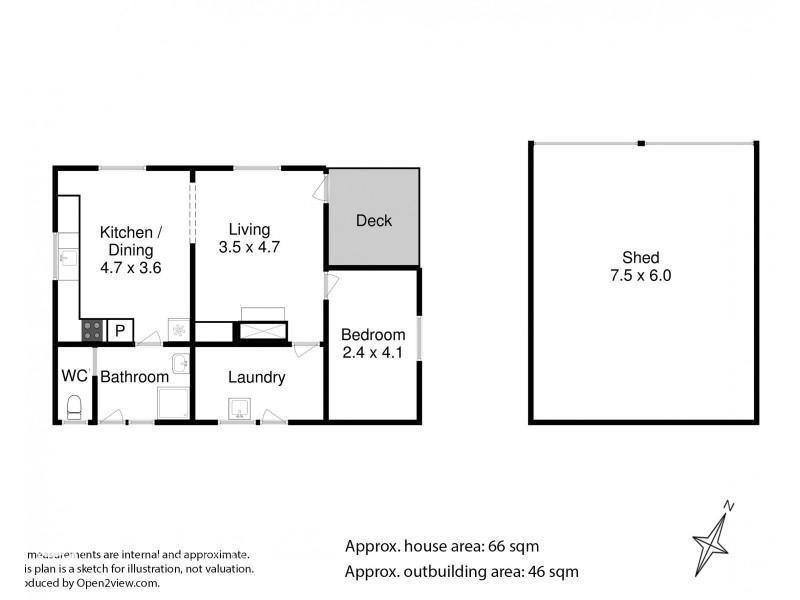 3614 Bruny Island Main Road, Alonnah TAS 7150 Floorplan