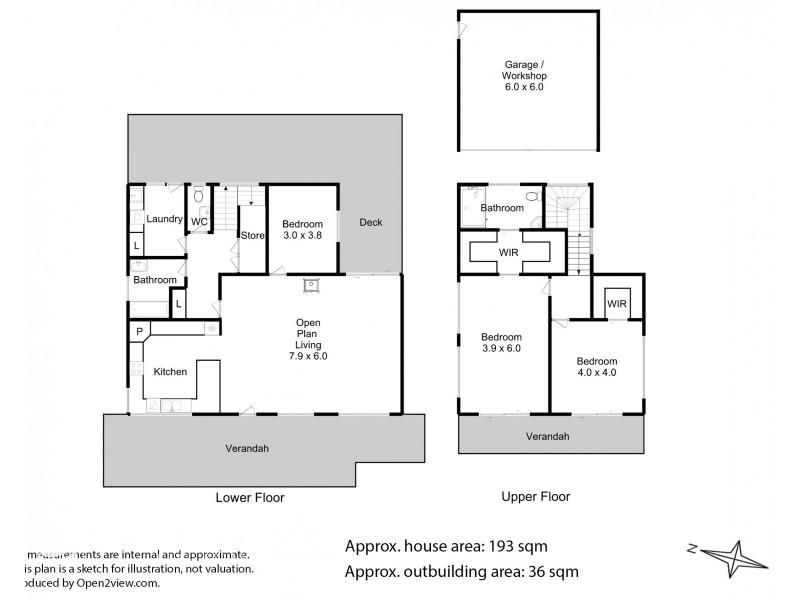 461 Abels Bay Road, Abels Bay TAS 7112 Floorplan