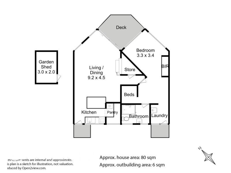 8 Lumeah Road, Adventure Bay TAS 7150 Floorplan
