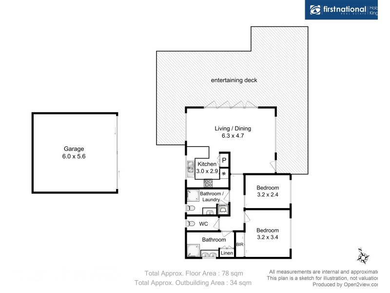 153 Adventure Bay Road, Adventure Bay TAS 7150 Floorplan