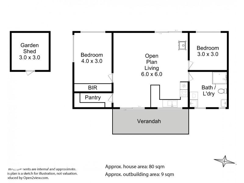15 Jacinda Drive, Gardners Bay TAS 7112 Floorplan