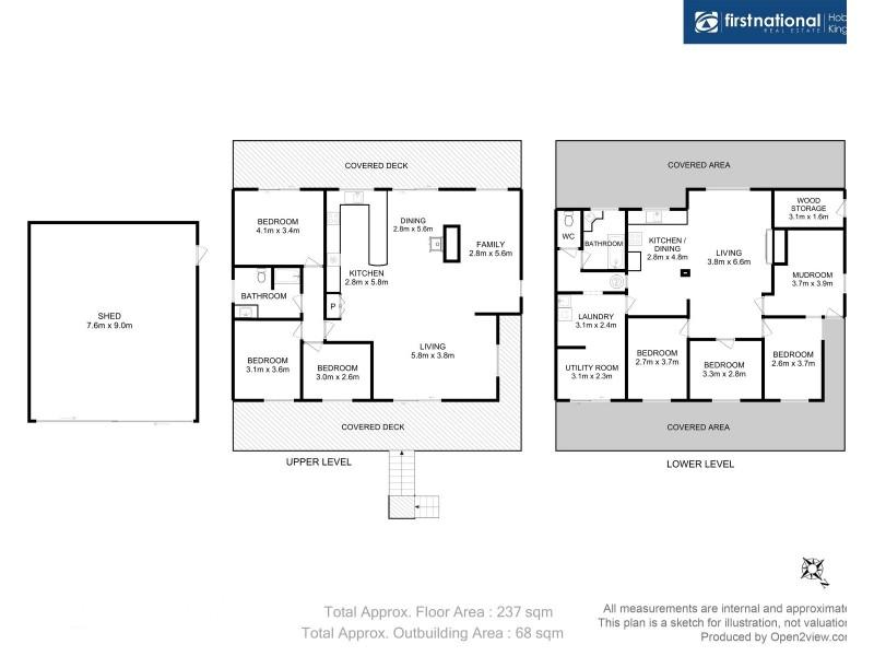 20 Sunset Drive, Garden Island Creek TAS 7112 Floorplan