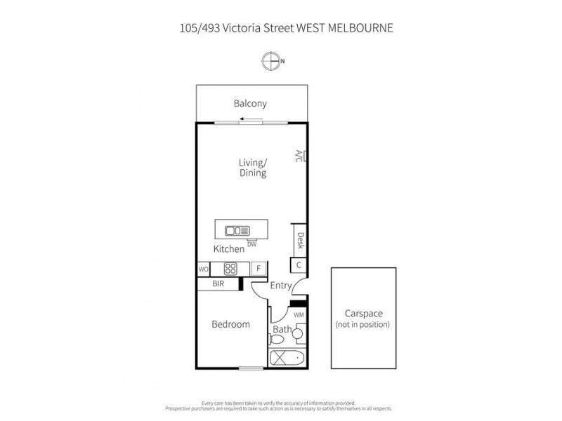 West Melbourne VIC 3003 Floorplan
