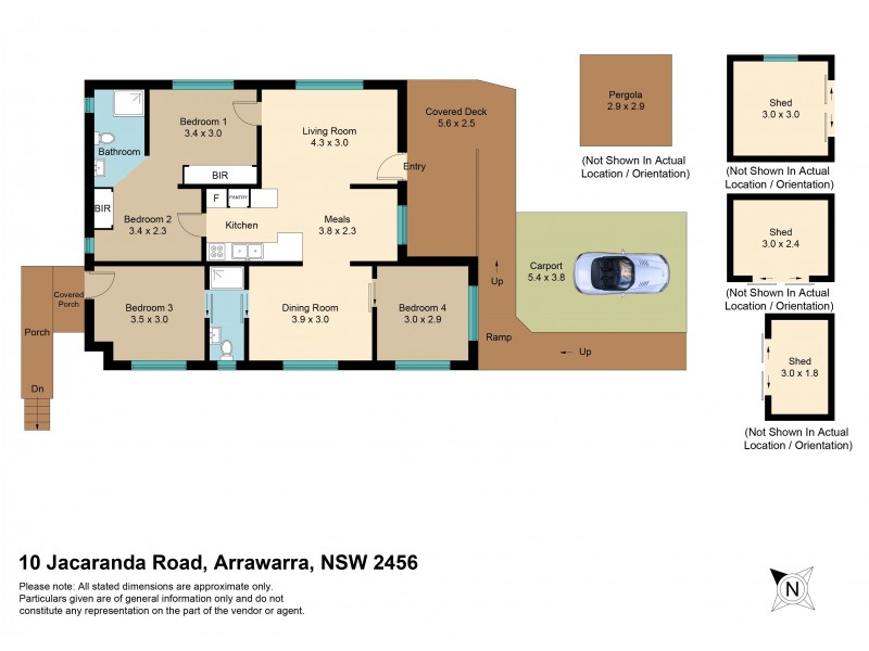 10 Jacaranda (Darlington Park Beach Resort) Road, Arrawarra NSW 2456 Floorplan
