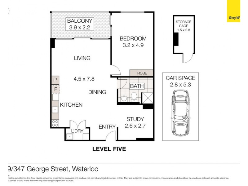 519/347 George Street, Waterloo NSW 2017