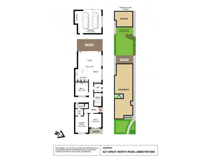 427 Great North Road, Abbotsford NSW 2046 Floorplan