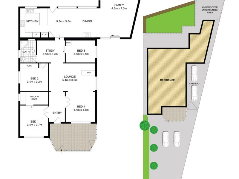 39 Saxon Street, Belfield NSW 2191 Floorplan