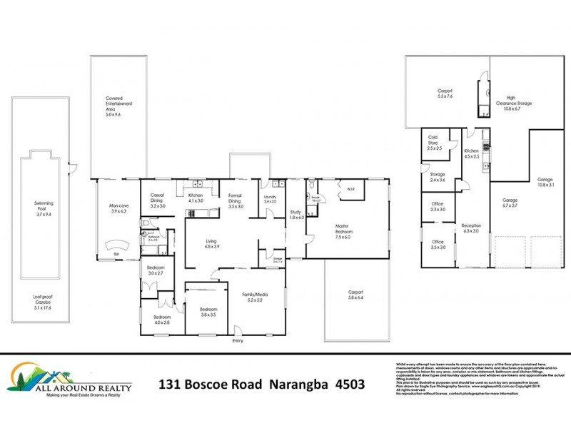 131 Boscoe Road, Narangba QLD 4504 Floorplan