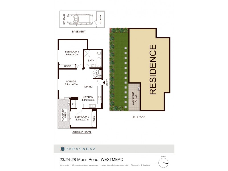 23/24-28 Mons Rd, Westmead NSW 2145 Floorplan