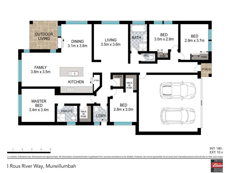 73 ROUS RIVER WAY, Murwillumbah NSW 2484 Floorplan