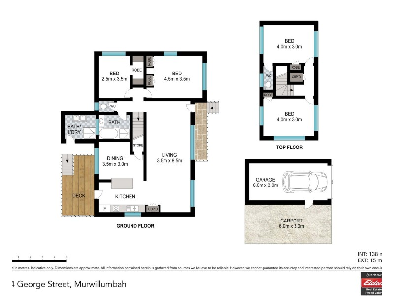 34 GEORGE STREET, Murwillumbah NSW 2484 Floorplan