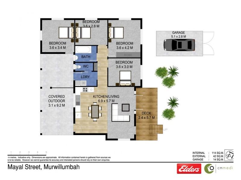2 MAYAL STREET, Murwillumbah NSW 2484 Floorplan