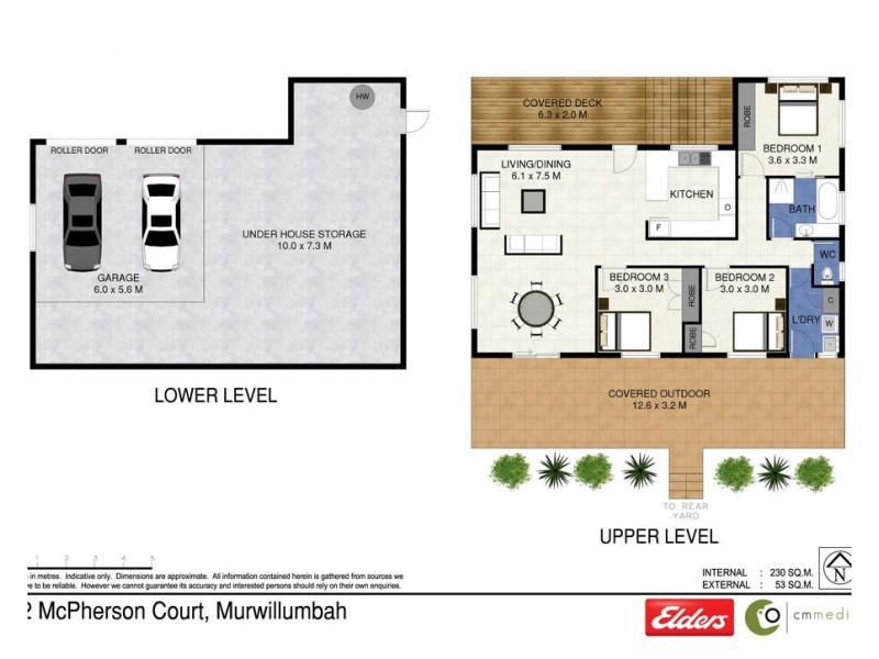 12 MCPHERSON COURT, Murwillumbah NSW 2484 Floorplan
