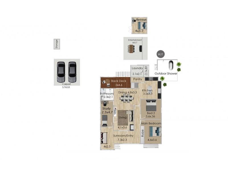 68 John Street, Rosewood QLD 4340 Floorplan