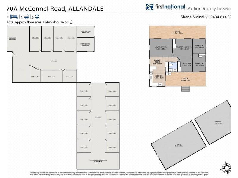 70 McConnel Road, Allandale QLD 4310 Floorplan