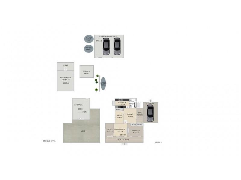 18 Hume Street, Woodend QLD 4305 Floorplan