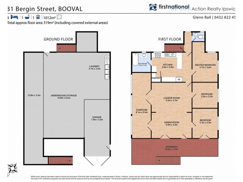 31 Bergin Street, Booval QLD 4304 Floorplan