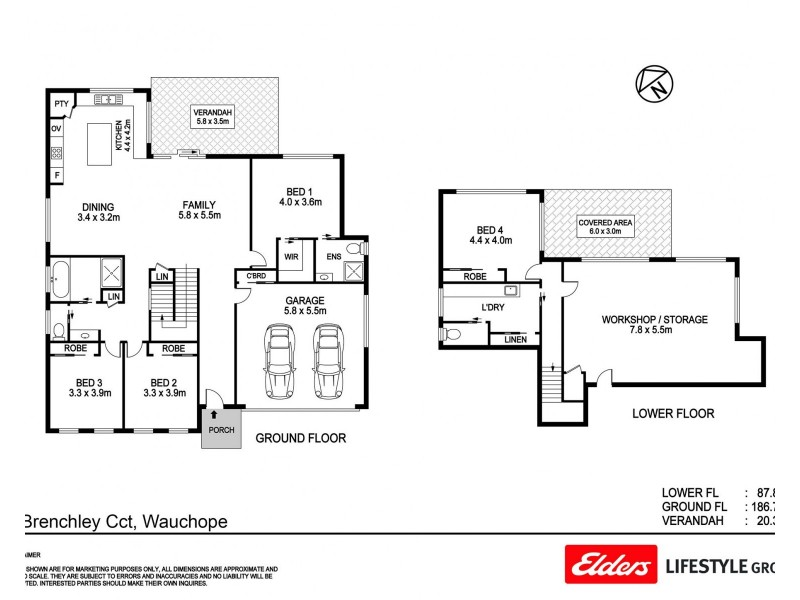 5 Brenchley Circuit, Wauchope NSW 2446 Floorplan