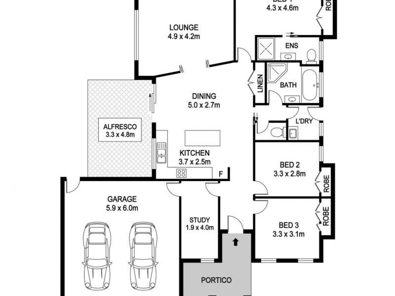 104 Riverbreeze Drive, Wauchope NSW 2446 Floorplan