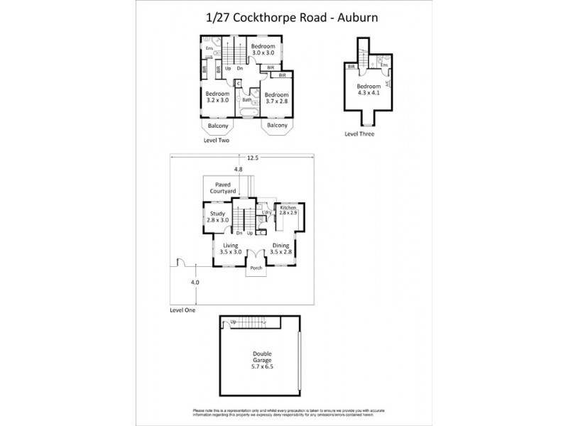 27 Cockthorpe Road, Auburn NSW 2144 Floorplan
