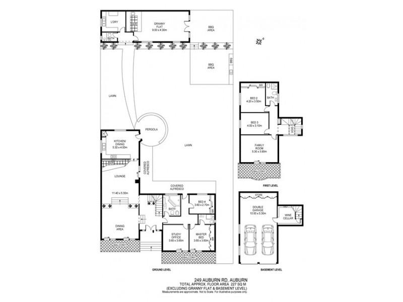 249 Auburn Road, Auburn NSW 2144 Floorplan