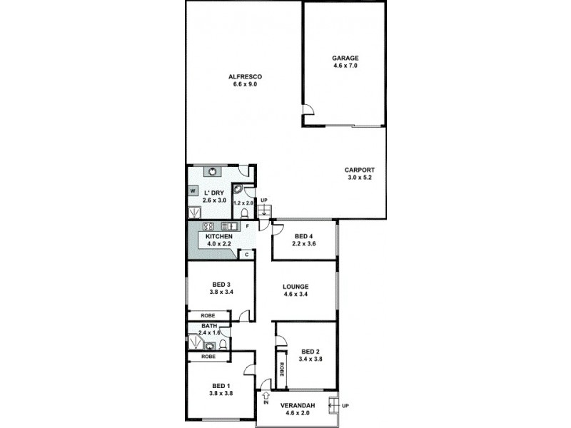 31 Chiswick Road, Auburn NSW 2144 Floorplan