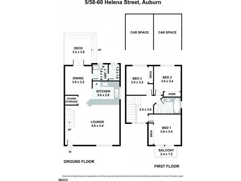 5/58-60 Helena Street, Auburn NSW 2144 Floorplan