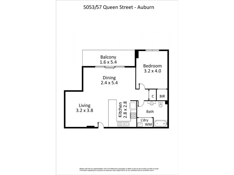 5053/57-59 Queen Street, Auburn NSW 2144 Floorplan