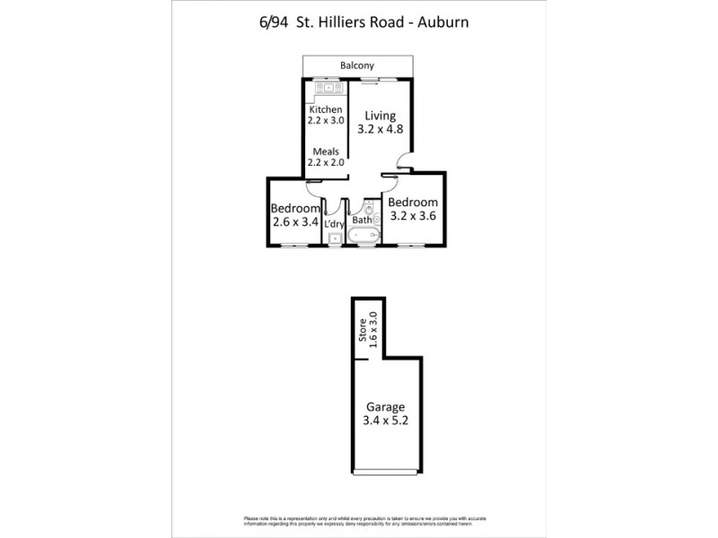 6/94-96 St Hilliers Road, Auburn NSW 2144 Floorplan