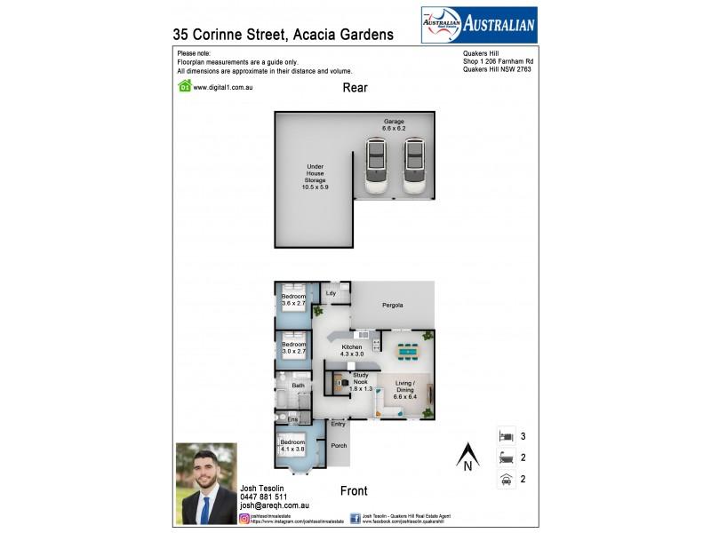 35 Corinne Street, Acacia Gardens NSW 2763 Floorplan