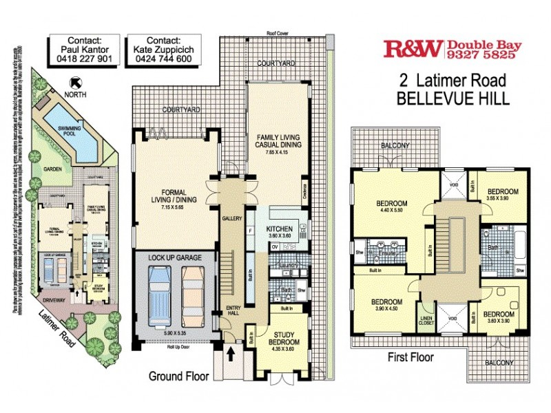 2 Latimer Road, Bellevue Hill NSW 2023 Floorplan