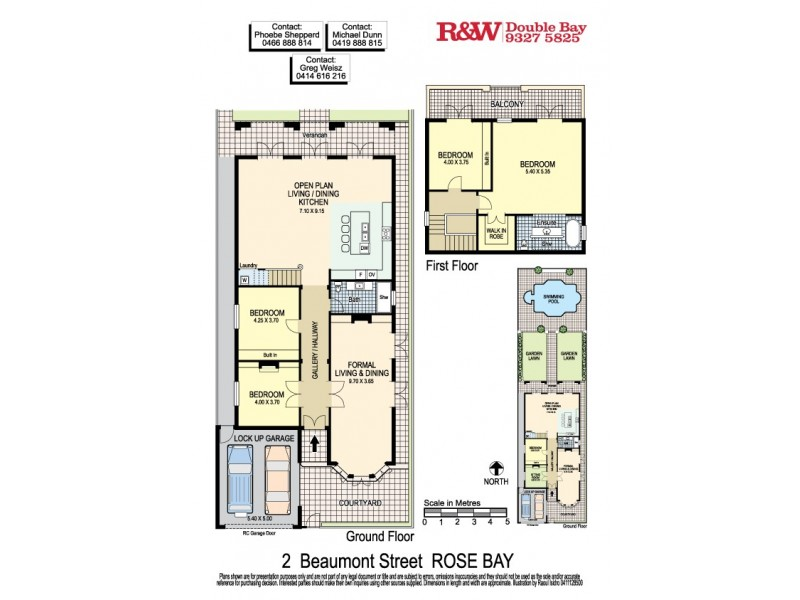 2 Beaumont Street, Rose Bay NSW 2029 Floorplan