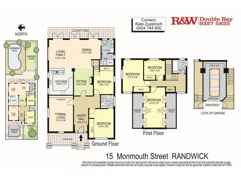 15 Monmouth Street, Randwick NSW 2031 Floorplan