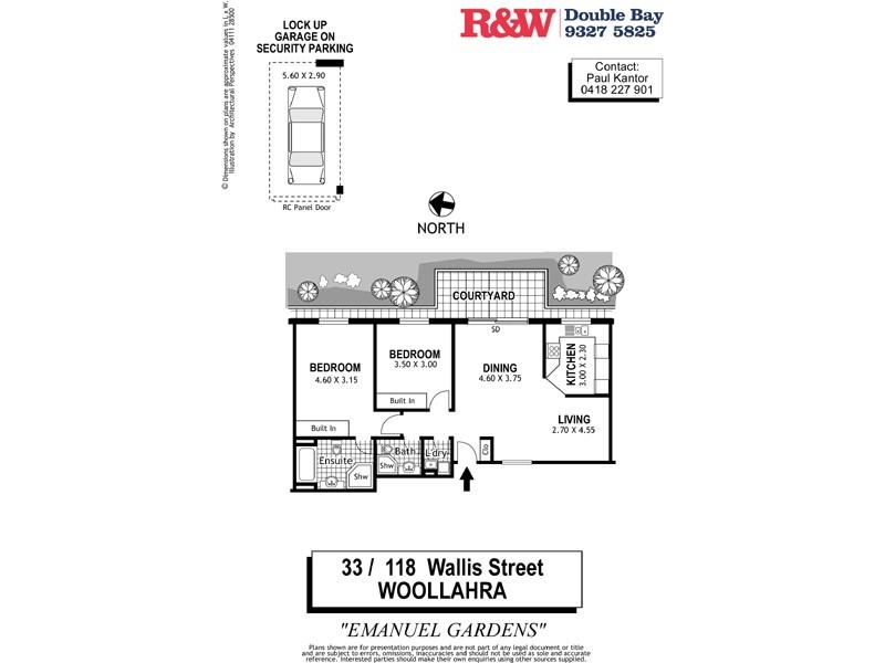 33/118 Wallis Street, Woollahra NSW 2025 Floorplan